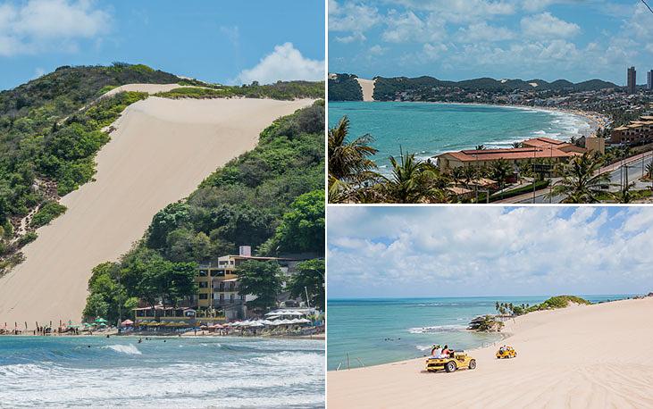 """Город Натал на северо-востоке Бразилии входит в штат Риу-Гранди-ду-Норти. Порт Натал основан в 1599 году, население - 850 тыс. человек. Город славится прежде всего длинной береговой линией и захватывающими пейзажами, которые привлекают как бразильцев, так и многочисленных туристов. Слово """"натал"""" в переводе с португальского означает """"Рождество"""""""