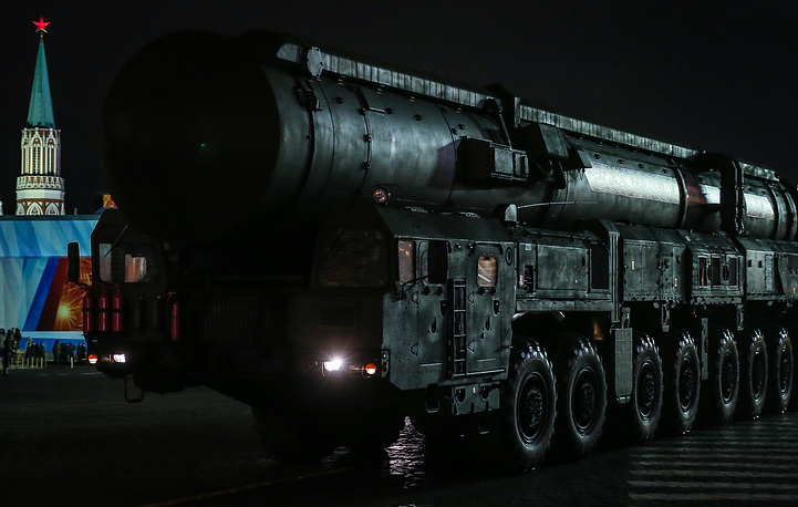 """Подвижной ракетный комплекс """"Тополь-М"""""""