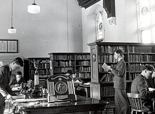 Библиотека Epsom College. Великобритания,1940е годы