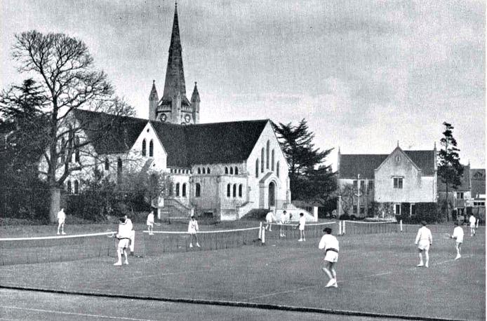 Часовня Wycliffe College, Великобритания, 1950е годы