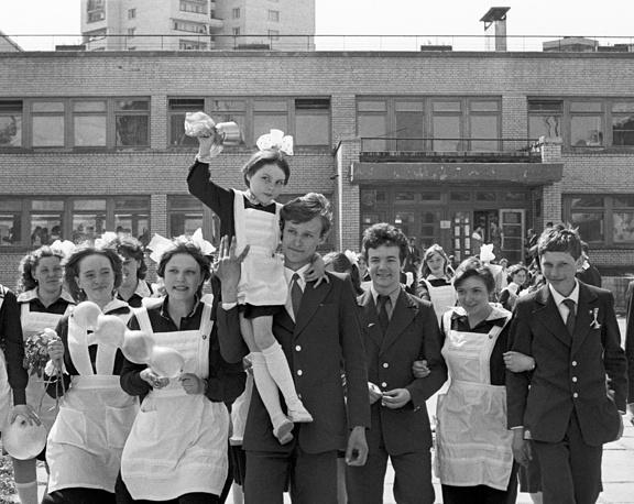 Средняя школа № 2 в Ленинграде, 1983 год