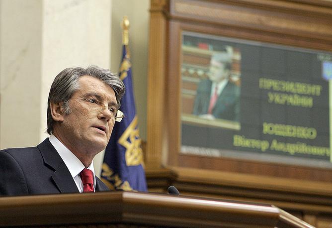 Президент Украины Виктор Ющенко, 2009 год