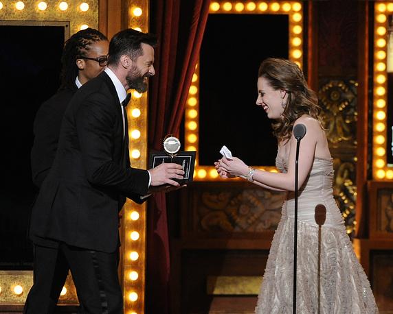 """Tony Award за лучшую женскую роль получила Джесси Мюллер, сыгравшая в мюзикле """"Красавица. Мюзикл о Кэрол Кинг"""""""