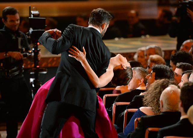 Хью Джекман на церемонии