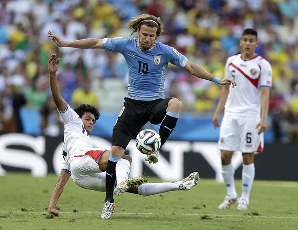 Один из лучших футболистов ЧМ-2010 Диего Форлан не сумел себя проявить
