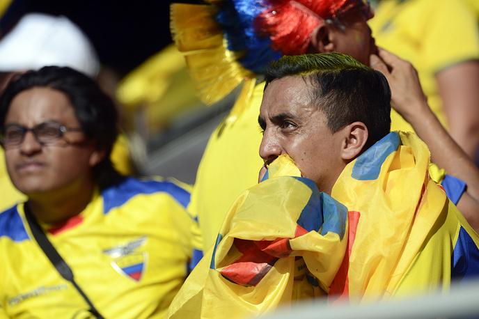Слезы эквадорских болельщиков