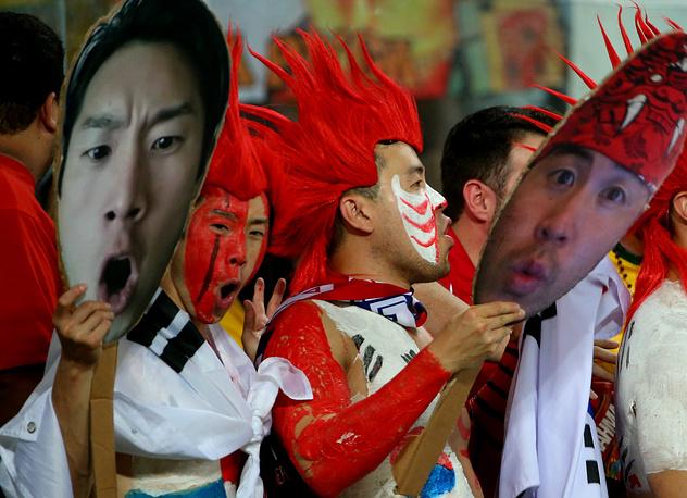 Болельщики сборной Кореи