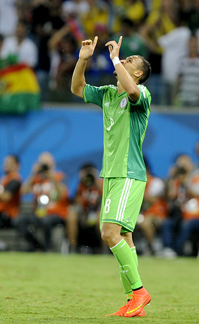 Питер Одемвинги забил единственный мяч в матче