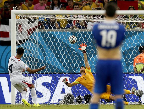 Майкл Уманья выводит Коста-Рику в 1/4 финал
