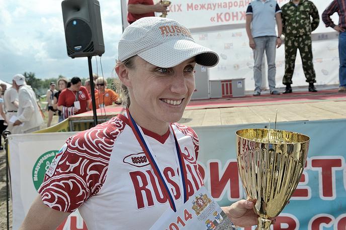 Ирина Машканцева, победитель марафона среди женщин