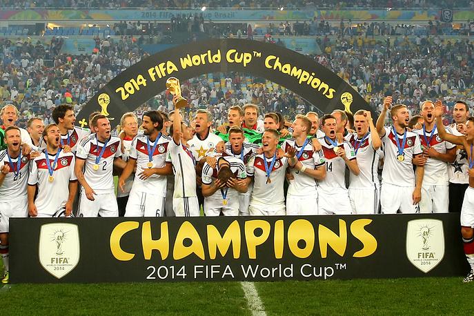 Сборная Германии - чемпион мира