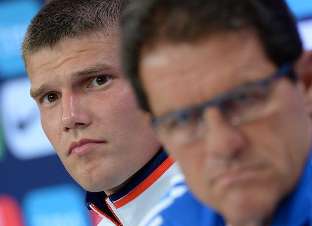 23. Игорь Денисов, футбол