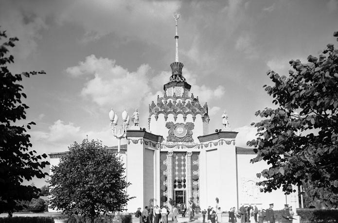"""Павильон """"Атомная энергия"""", 1956 год"""