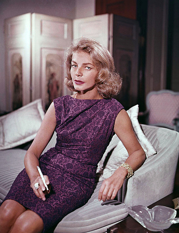 Актриса у себя дома в Нью-Йорке, 1965 год