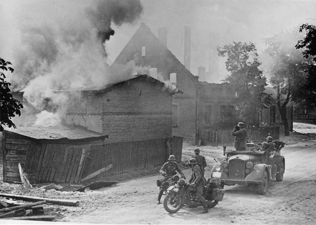 Немецкие войска в Польше. Сентябрь 1939 года