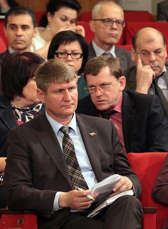 Первый вице-премьер Крыма Михаил Шеремет (на фото). Кроме того, в список впервые попал официальный представитель Крыма в Москве Георгий Мурадов