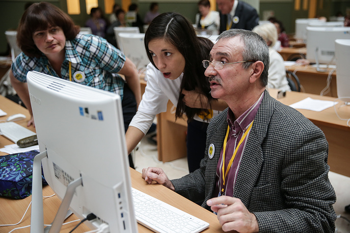IV Всероссийский чемпионат по компьютерному многоборью среди пенсионеров в Москве