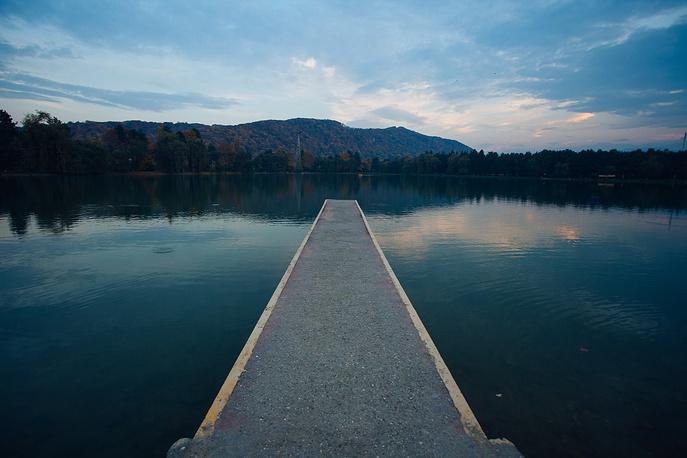 Курортное озеро в Нальчике