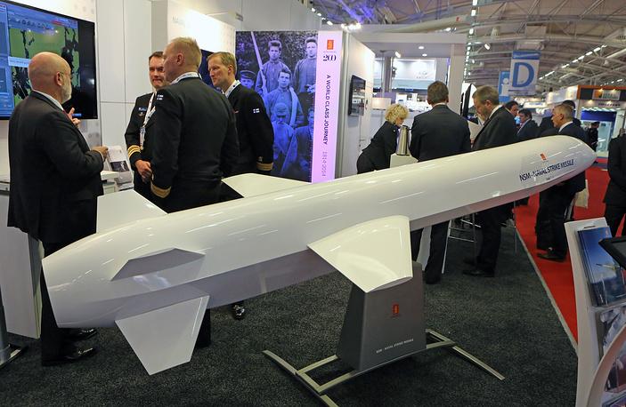 Противокорабельная ракета, разработанная норвежской фирмой Kongsberg