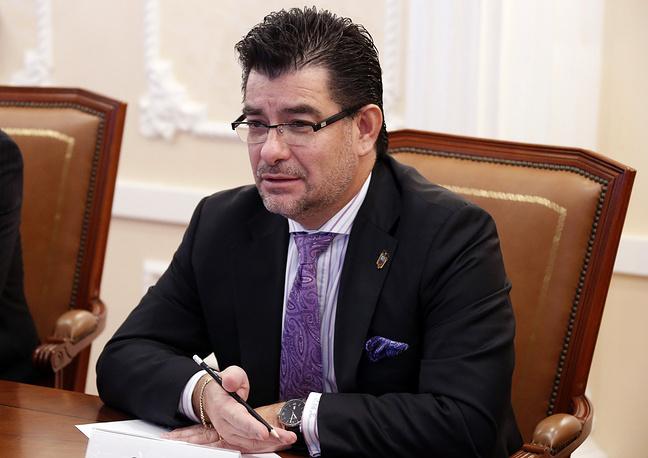 Чрезвычайный и полномочный посол Республики Эквадор в РФ Патрисио Чавес Савала