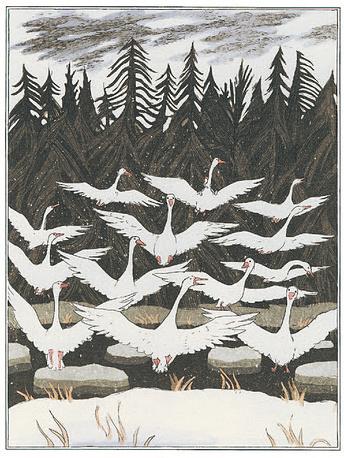Диодоров Б.А. Чудесное приключение Нильса с дикими гусями