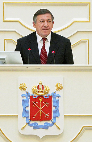 Глава комитета по физической культуре и спорту Юрий Авдеев
