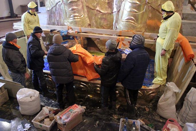На реставрацию статуи Майтрейя - Будды грядущего времени выделено свыше 50 миллионов рублей
