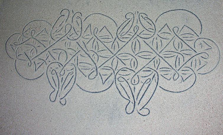 В список ЮНЕСКО включены рисунки на песке народа Вануату, отражающие их ритуалы и мифические представления