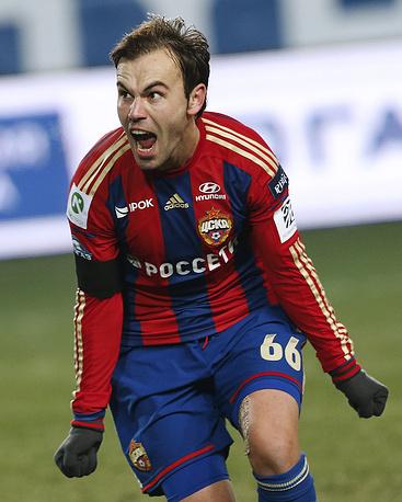 Футболист ЦСКА Бибрас Натхо