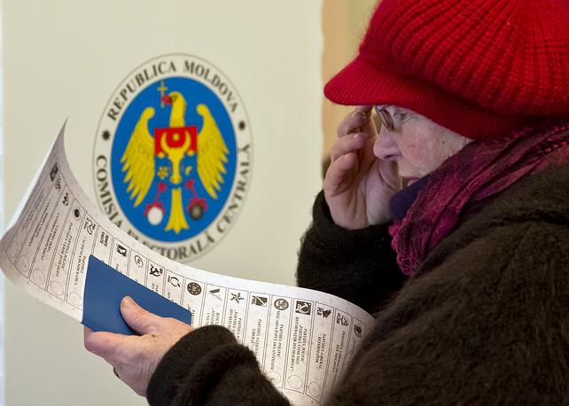 Голосование в посольстве Республики Молдова в Бухаресте, 30 ноября 2014 года