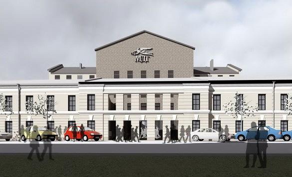 Представлен проект нового здания МДТ на Звенигородской улице