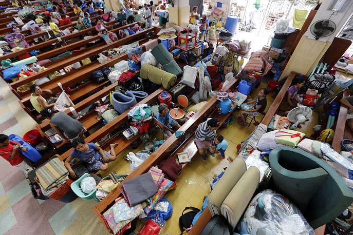 Власти отдали распоряжение об эвакуации населения с Восточного побережья