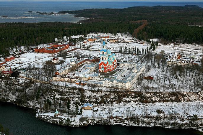 Валаамский монастырь, современный вид