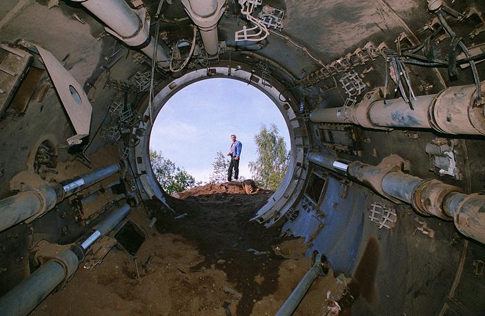 Демонтаж и уничтожение шахтных пусковых установок в ракетных частях в рамках Международного договора о сокращении и ограничении стратегических наступательных вооружений (СНВ), 1995 год
