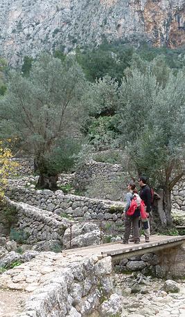 Этап Biniarix маршрута Pedra en Sec