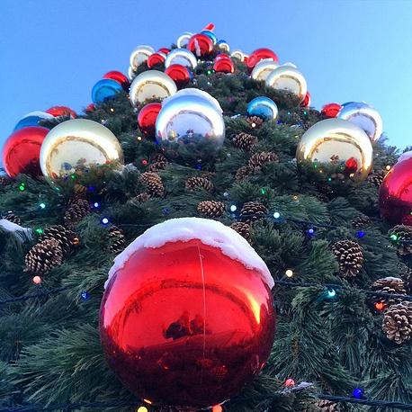 Главная новогодняя елка в Иркутске
