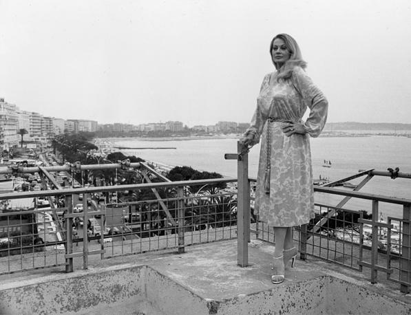 Анита Экберг в Канне, 1978 год