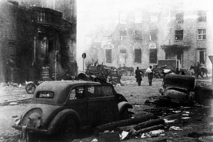 Кенигсберг, 1945 год