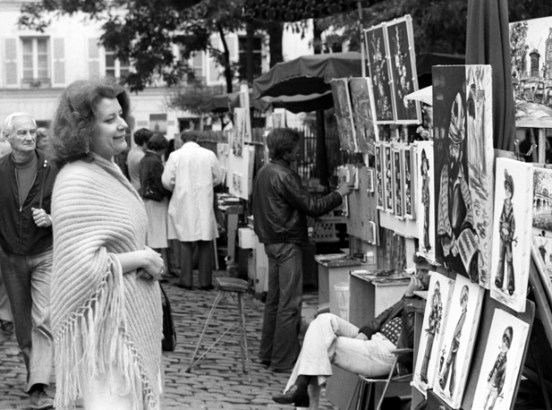 Образцова на гастролях в Париже, 1978 год
