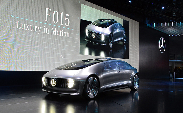 Концепт-кар Mercedes F015