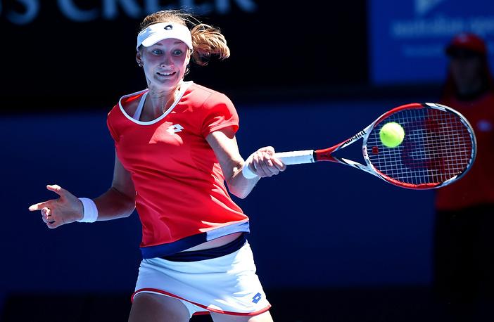 Екатерина Макарова в матче 2-го круга выиграла со счетом 6:2, 6:4