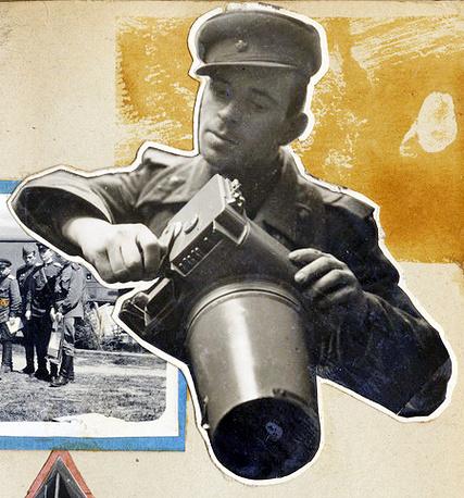 Портрет Николая Филатова. Снимок из альбома