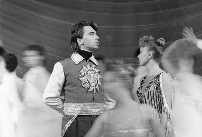 Оперный певец Дмитрий Хворостовский в роли Германа. 1988 год