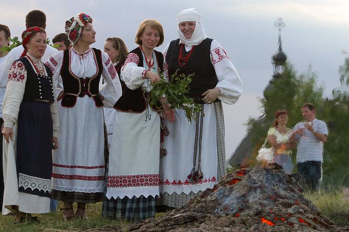 0,38% россиян считают себя белорусами