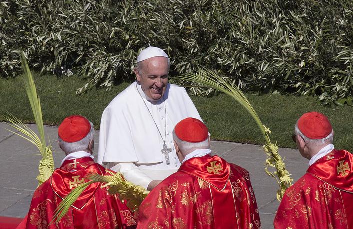 10 место. Папа Римский Франциск - 1,5%