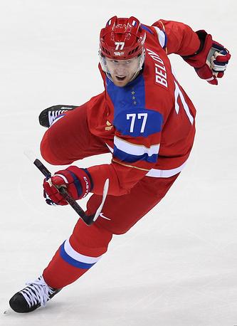 Защитник Антон Белов (СКА) - чемпион мира 2014 года, обладатель Кубка Гагарина-2014/15