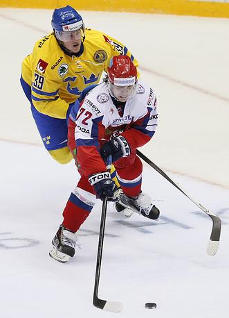 Форвард Артемий Панарин (СКА) - обладатель Кубка Гагарина-2014/15