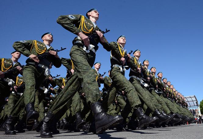 Военный парад в честь 70-летия Победы в Минске