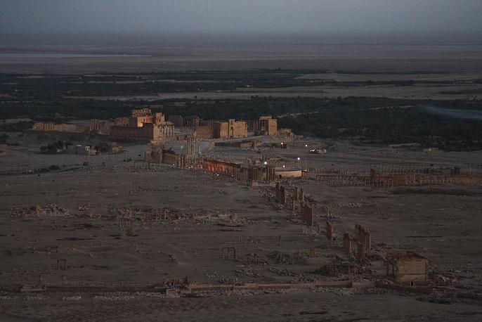 Сирийские власти предупредили мировое сообщество об угрозе уничтожения древней Пальмиры