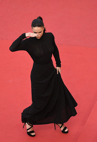 Актриса Мишель Родригез на церемонии закрытия фестиваля